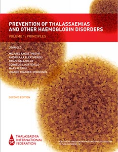 Photo of Prevention of Thalassaemias and other Haemoglobin Disorders, Vol 1, 2nd Edition (2013)
