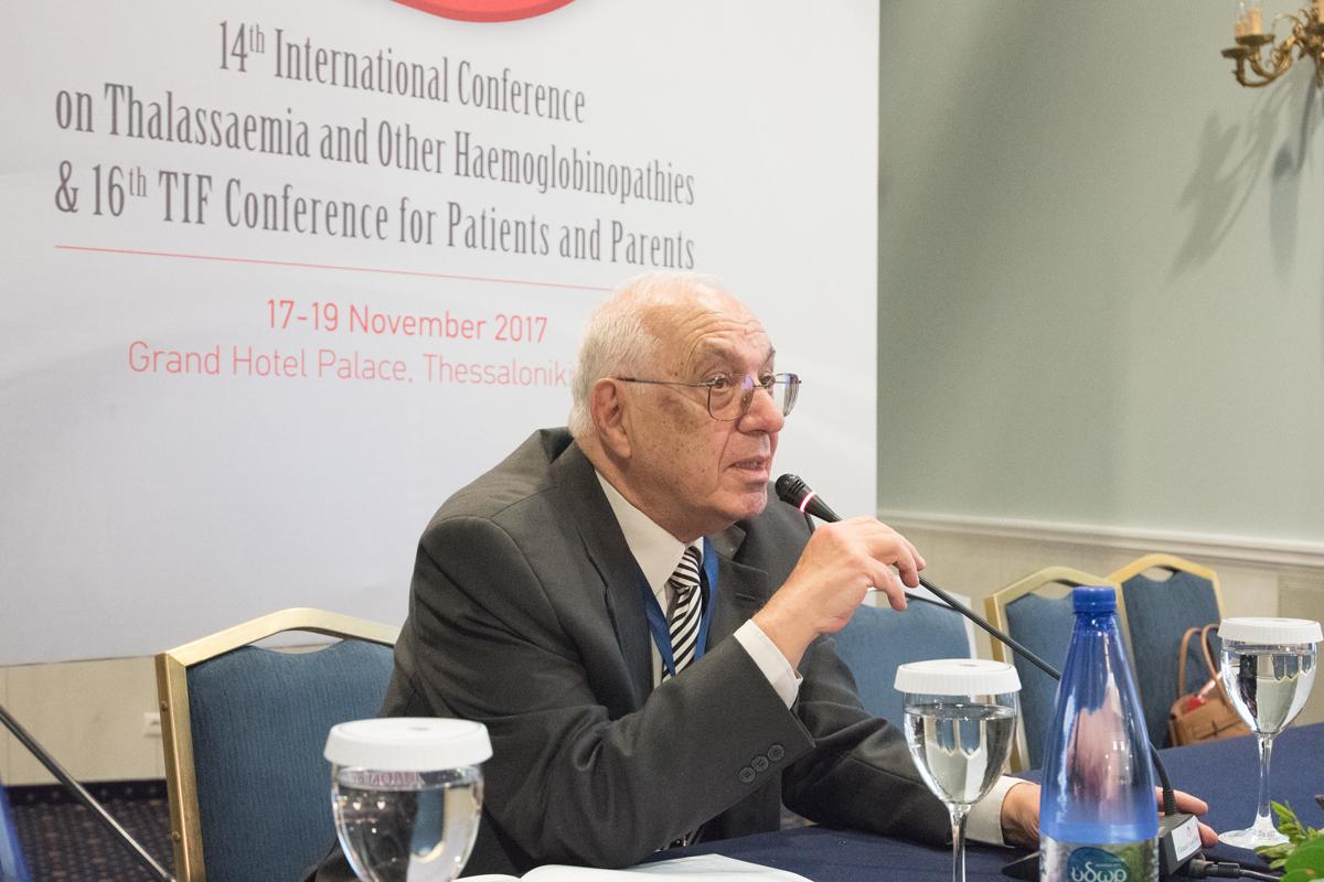 """Photo of The """"Panos Englezos Prize 2018"""" awarded to the Emeritus Professor Christos Kattamis"""