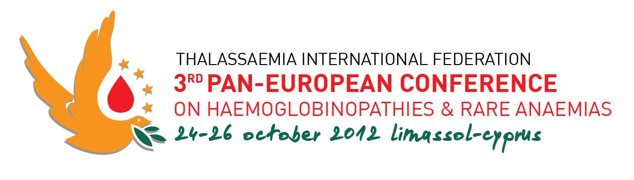 Photo de The 3rd Pan-European Conference on Haemoglobinopathies & Rare Anaemias 24-26 october 2012