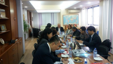 Photo of Consultation meeting with delegates from China – 21-25 October 2019