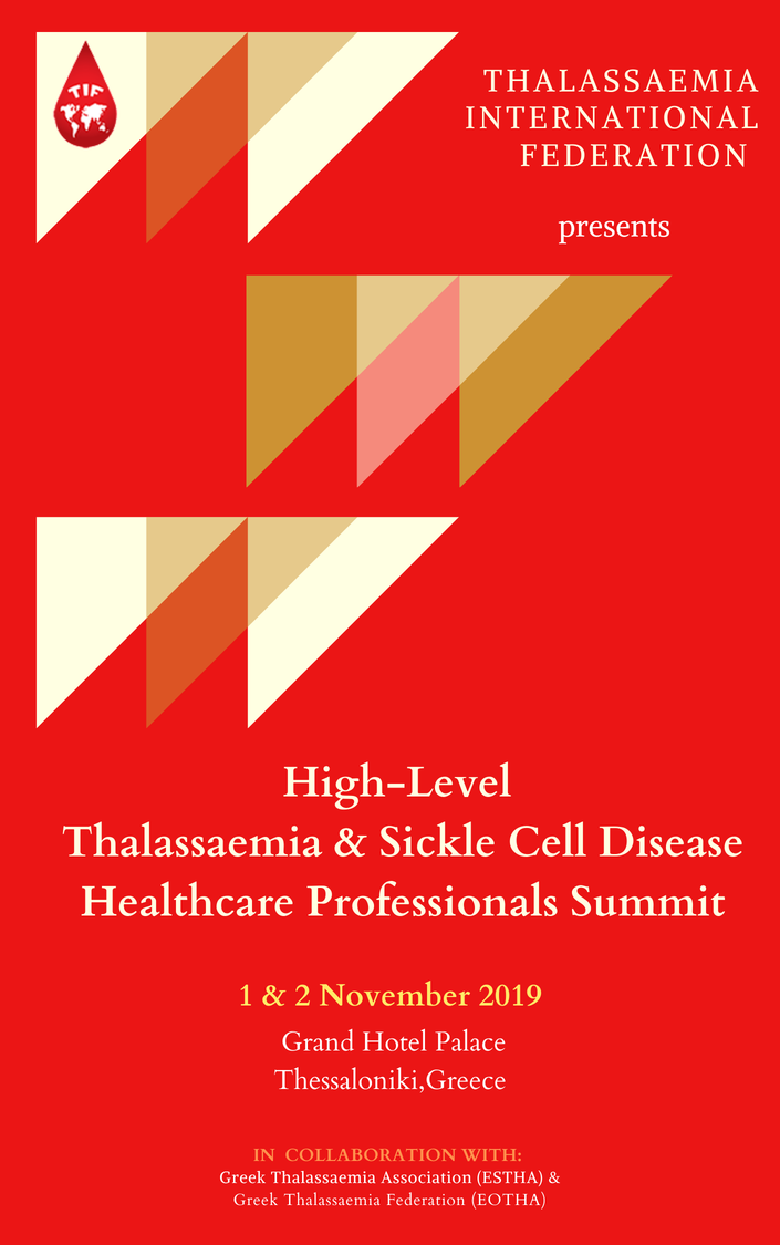 Photo of High-Level Thalassaemia & Sickle Cell Disease Healthcare Professionals Summit – 1 & 2 November 2019