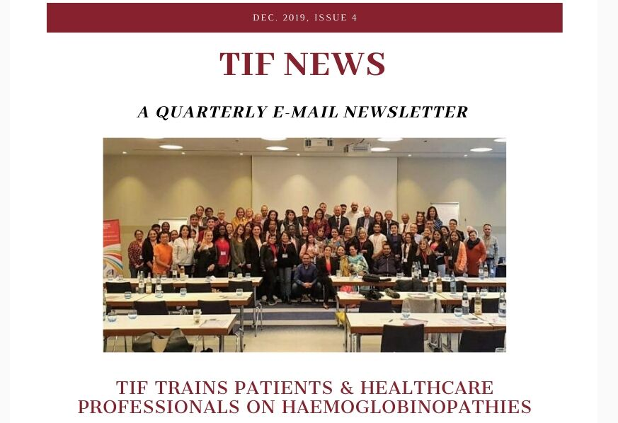 Photo of TIF's latest Newletter is out now!