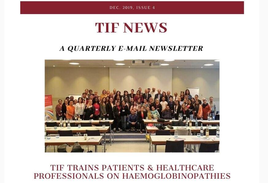 Photo de TIF's latest Newletter is out now!