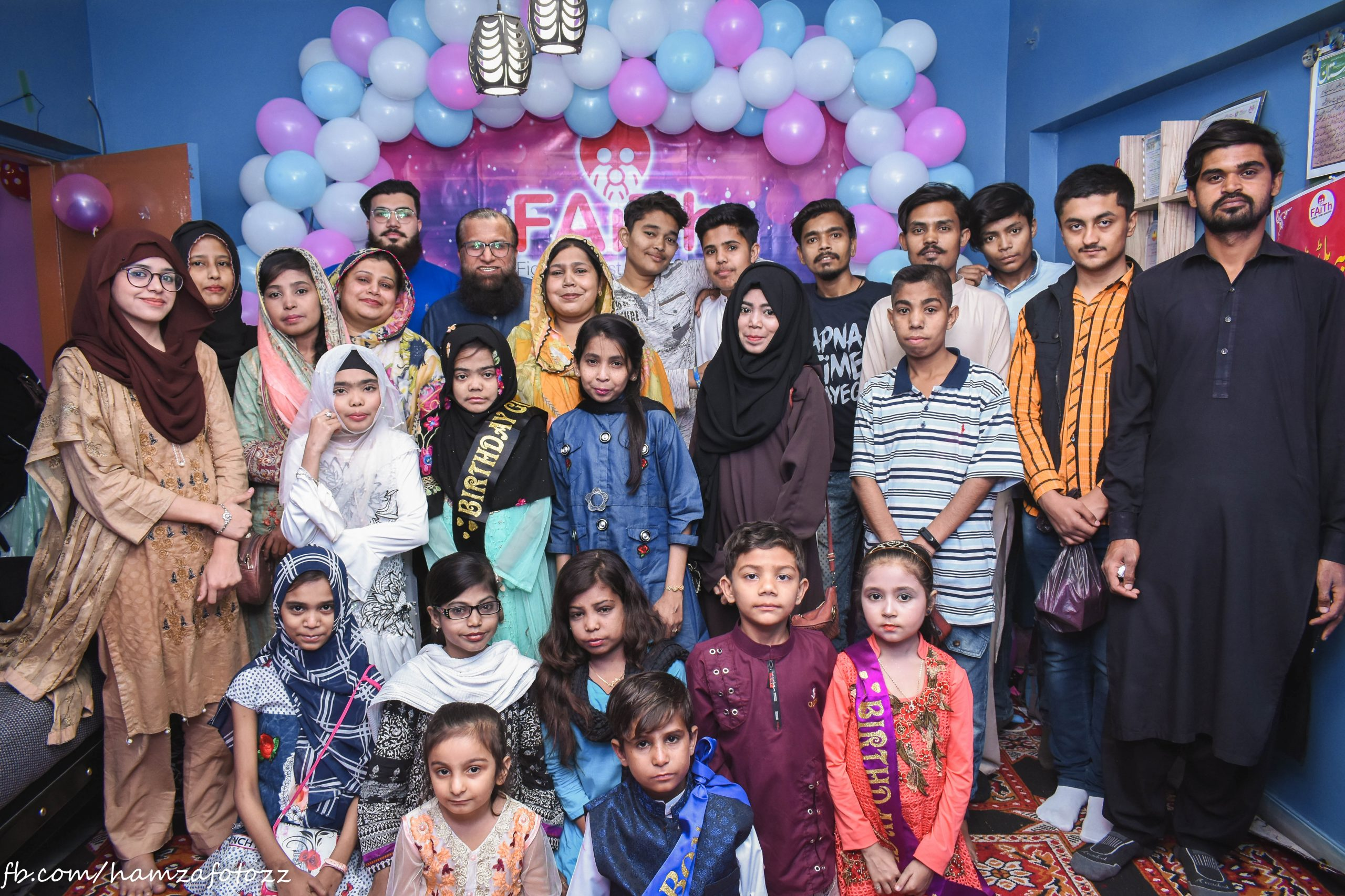 Bild von FAiTh Society Pakistan organised a series of special events for patients with thalassaemia