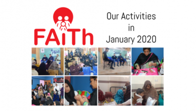 Photo de 'FAiTh – Fight Against Thalassemia Association' presents its activities for January 2020