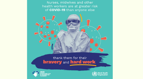 صورة WORLD HEALTH DAY: Honouring the work of nurses and midwives – 7 April 2020