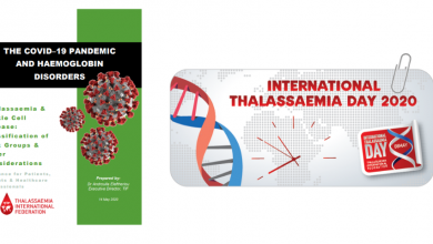 Photo of TIF's Latest Guide for the COVID-19 Pandemic is Going Public on the International Thalassaemia Day 2020