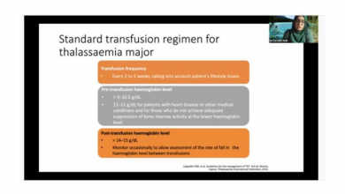 صورة eThalED Webinar Series: Blood Transfusion in Thalassaemia