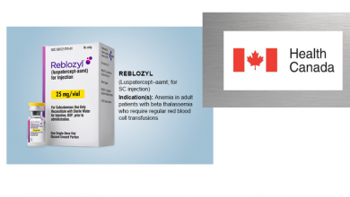 Photo of Health Canada Approves REBLOZYL® For Adult Patients with β-Thalassaemia