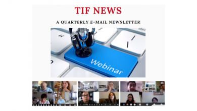 Photo of TIF's Latest Newsletter Issue Is Out!