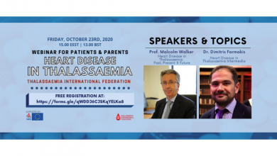 "Photo of TIF Webinar Fridays Are Back With A New Session on ""Heart Disease In Thalassaemia"""