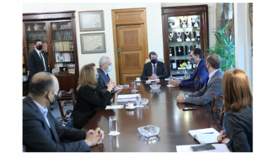 Photo de Cyprus President Anastasiades Welcomed A TIF Delegation