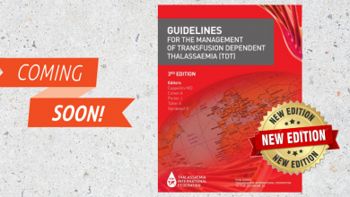 Photo of TIF Guidelines For The Management Of Transfusion Dependent Thalassaemia 4th Edition Arriving Soon!